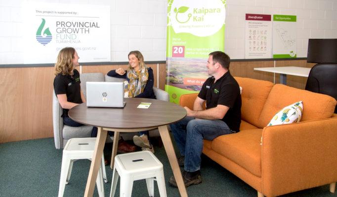 Support at Kaipara Kai Hub